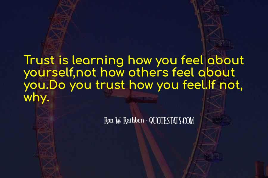 Quotes About Honesty And Trust #1298195