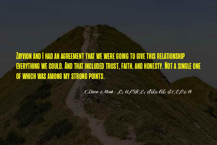 Quotes About Honesty And Trust #1468413