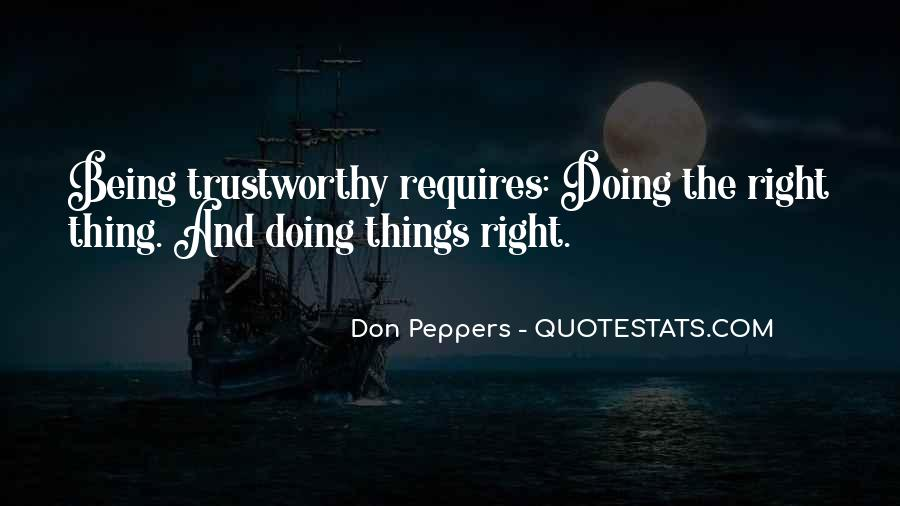 Quotes About Honesty And Trust #147288