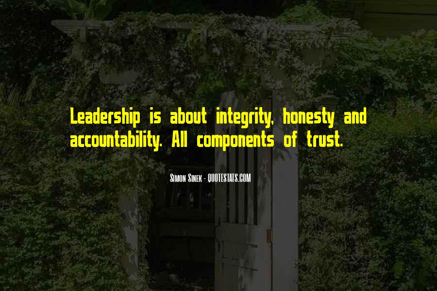 Quotes About Honesty And Trust #1718815