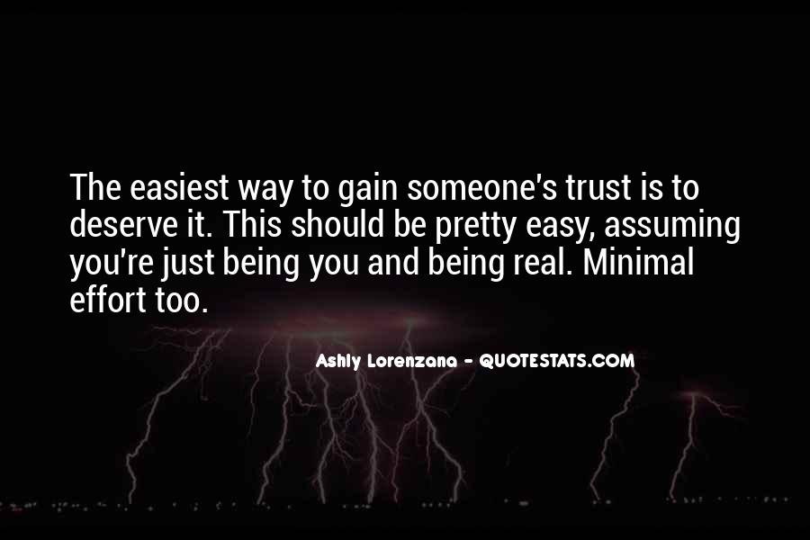 Quotes About Honesty And Trust #1819536