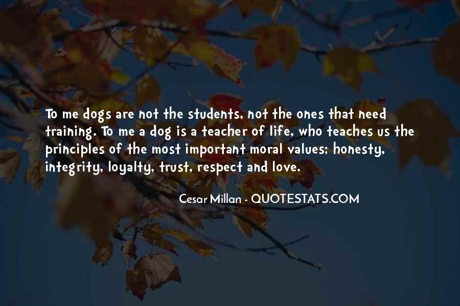 Quotes About Honesty And Trust #207634