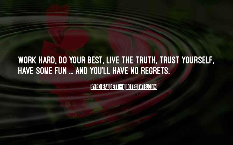Quotes About Honesty And Trust #36918