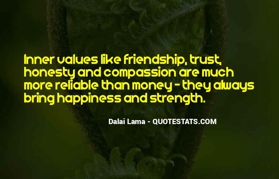 Quotes About Honesty And Trust #411589