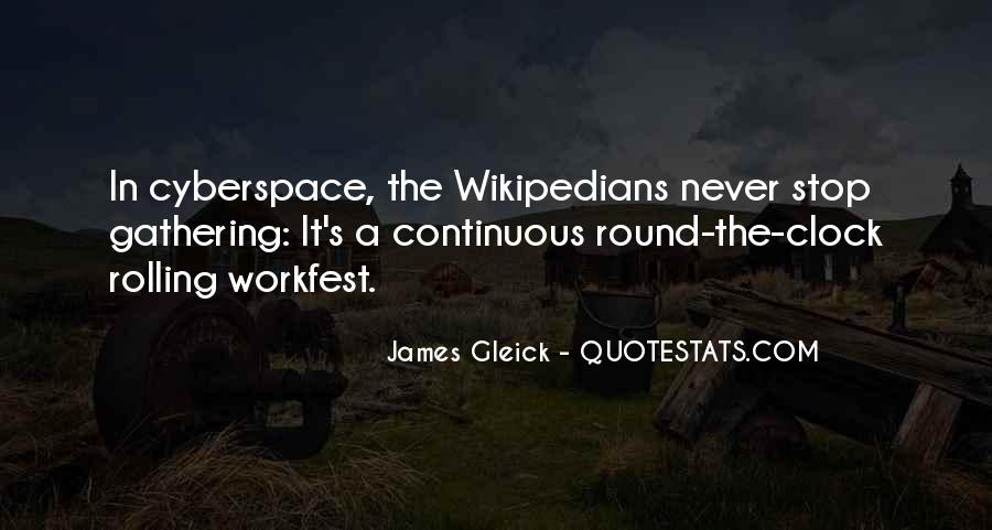 Cyberspace'd Quotes #1146882