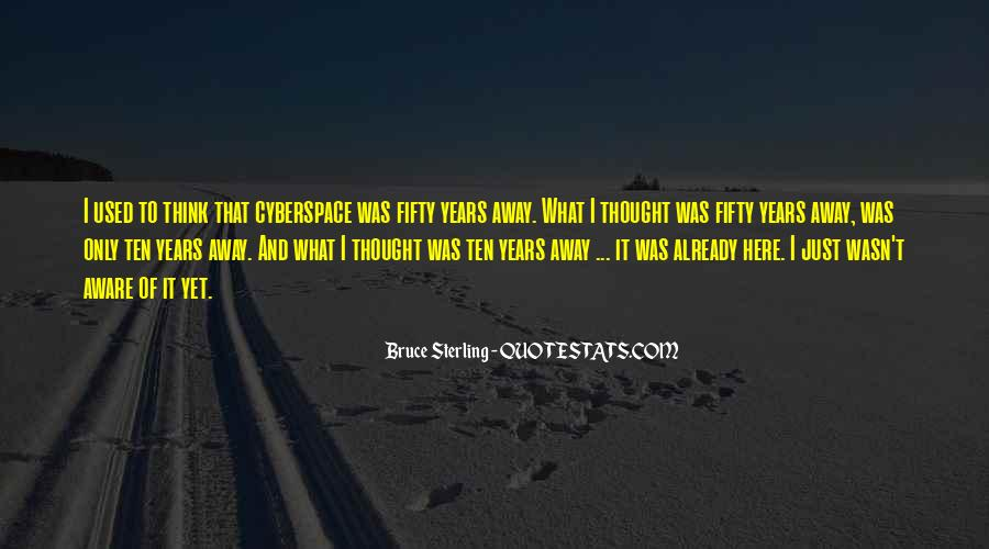 Cyberspace'd Quotes #1226041