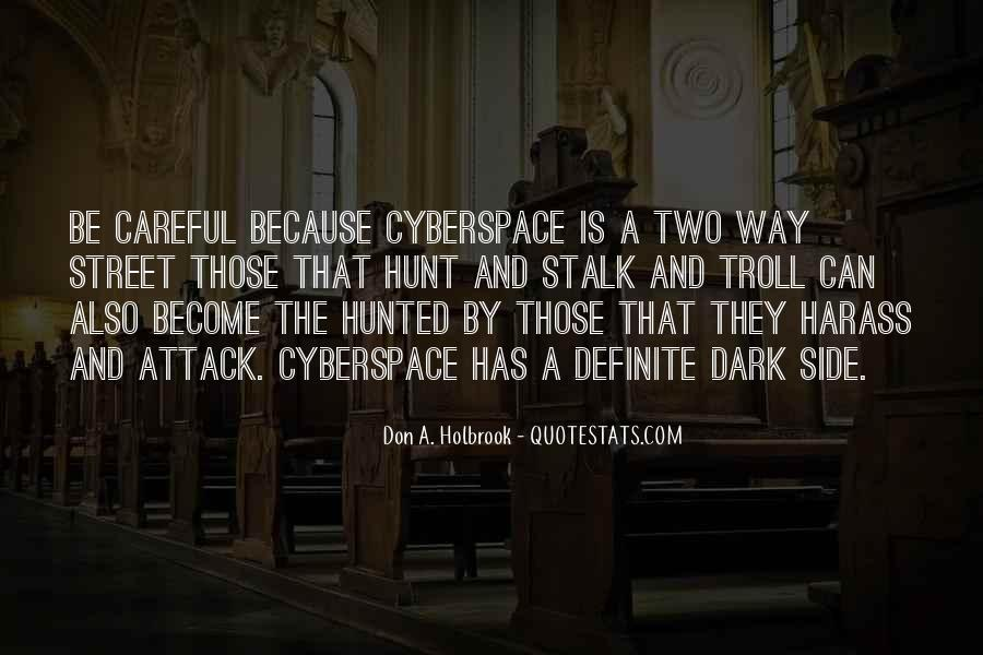 Cyberspace'd Quotes #1244540