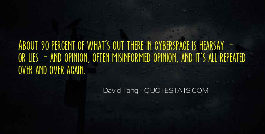 Cyberspace'd Quotes #1473131