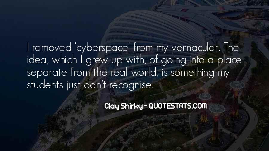 Cyberspace'd Quotes #1637126
