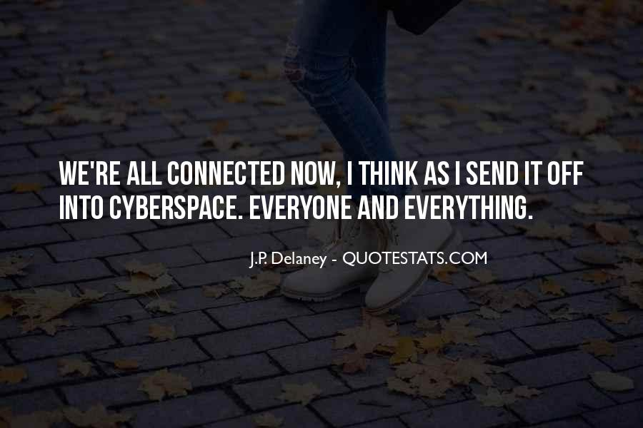 Cyberspace'd Quotes #1646490