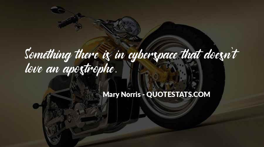 Cyberspace'd Quotes #256440