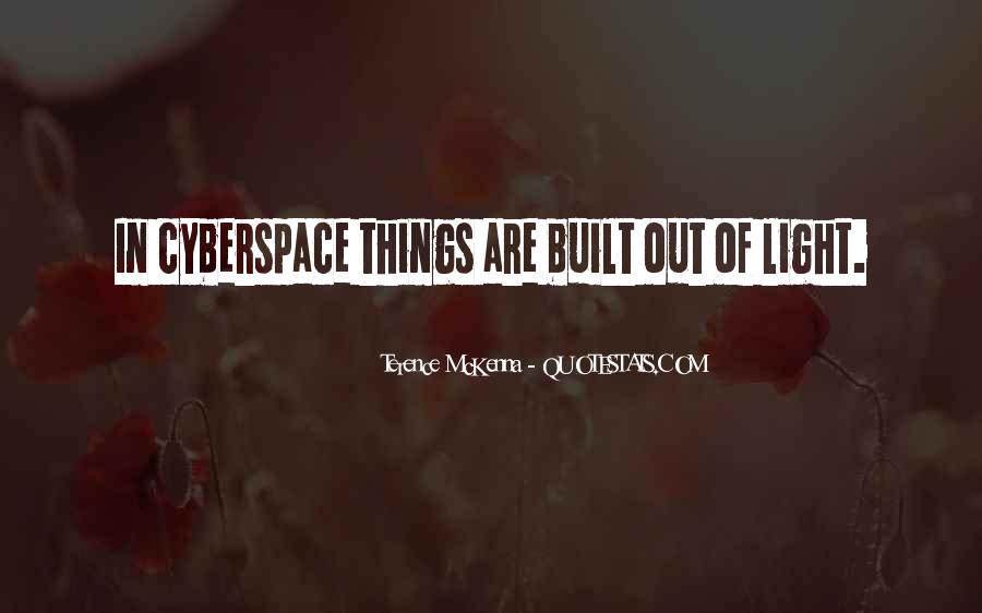 Cyberspace'd Quotes #39556