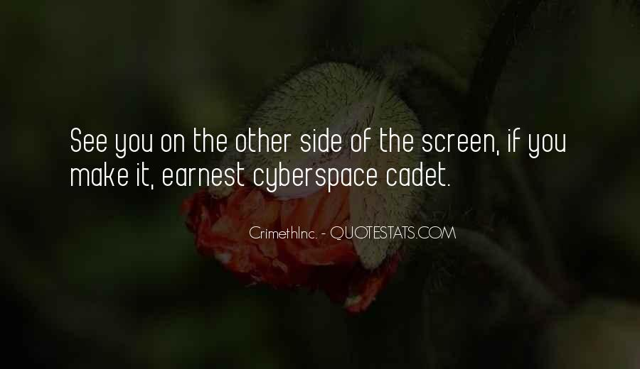 Cyberspace'd Quotes #44692