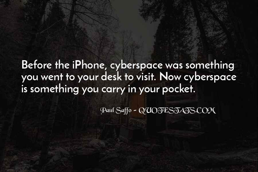 Cyberspace'd Quotes #514520
