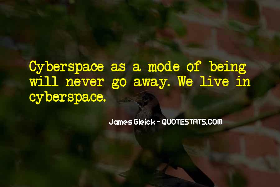 Cyberspace'd Quotes #859649