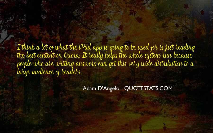 D'adam Quotes #943729