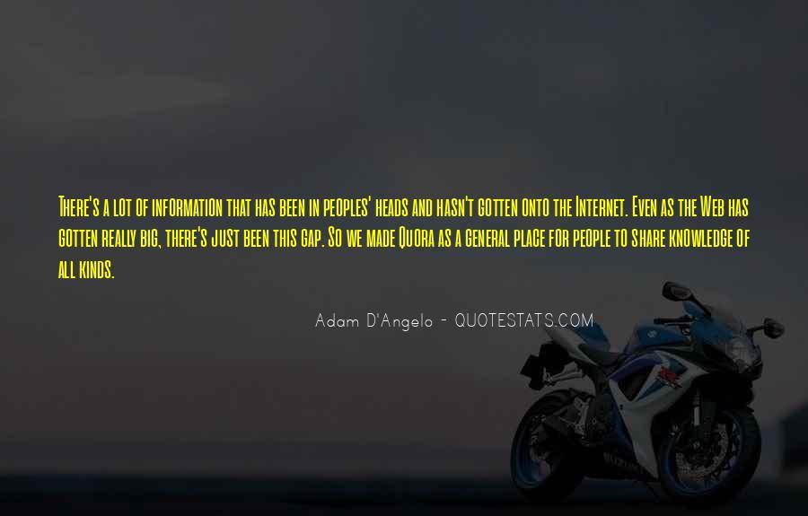D'adam Quotes #950437