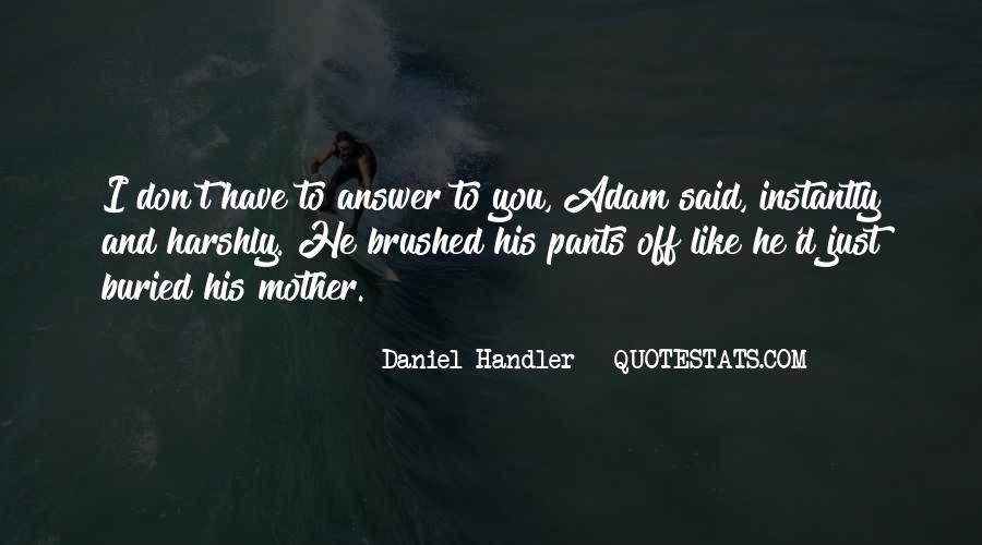 D'adam Quotes #99140