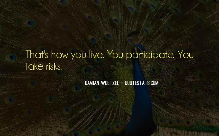 Damian's Quotes #216705