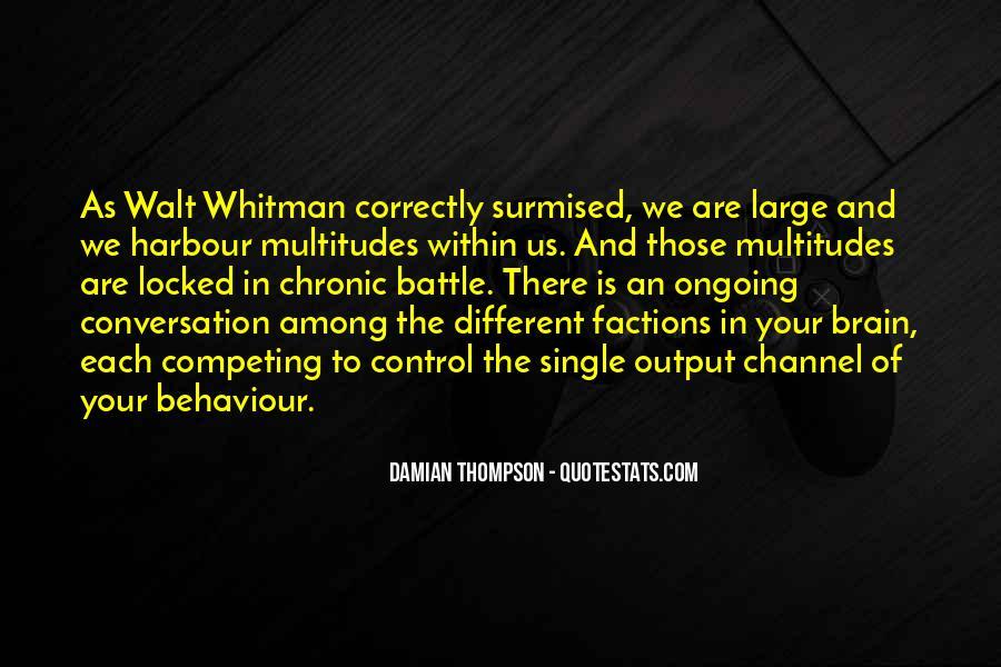 Damian's Quotes #262457
