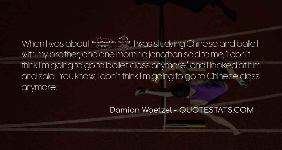 Damian's Quotes #32194