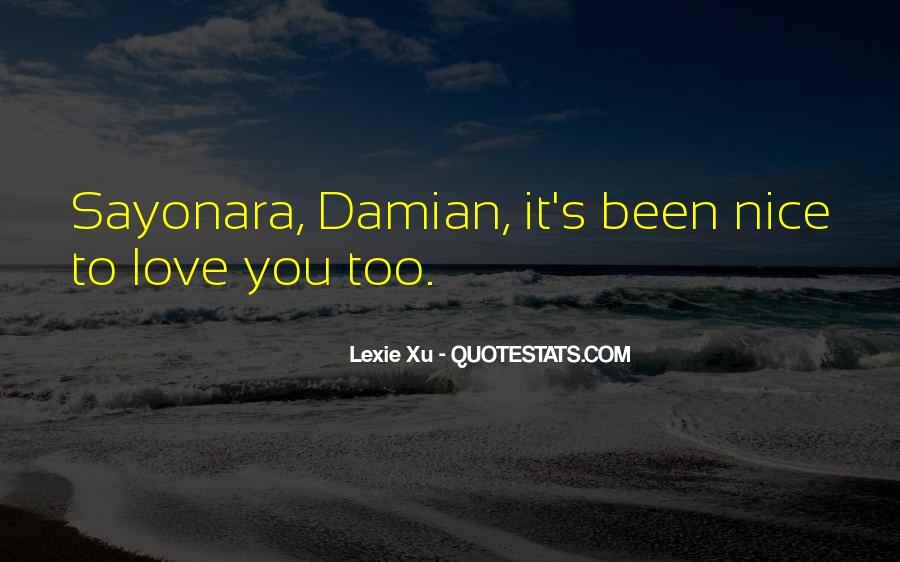 Damian's Quotes #946905