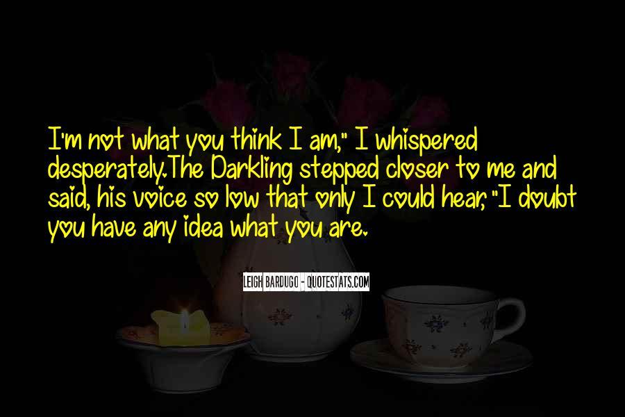 Darkling's Quotes #1121544