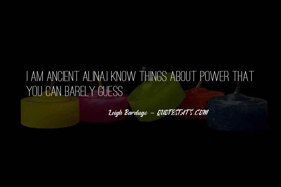 Darkling's Quotes #1122811