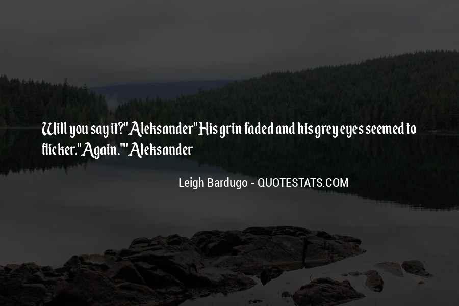 Darkling's Quotes #1255147