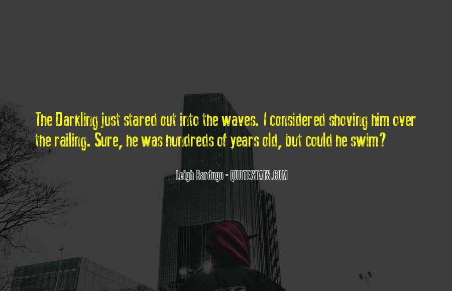 Darkling's Quotes #1350362