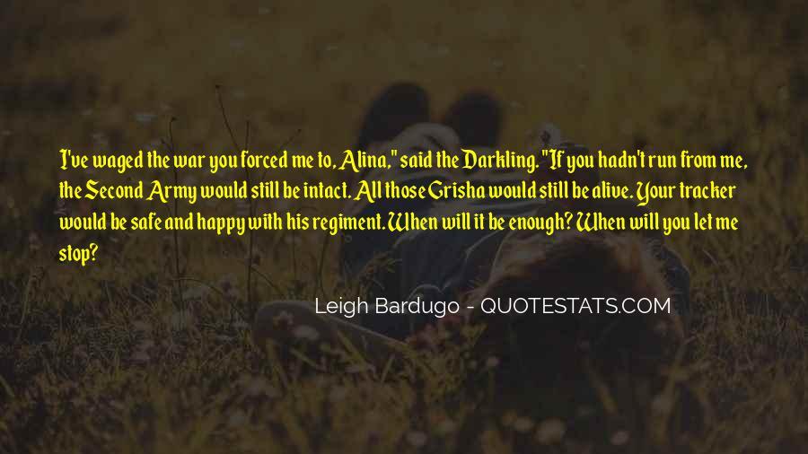 Darkling's Quotes #1506806