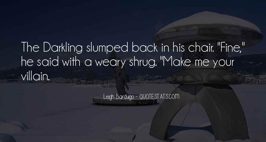 Darkling's Quotes #1643979