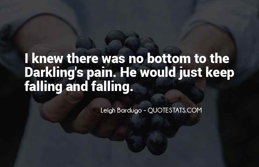 Darkling's Quotes #463243