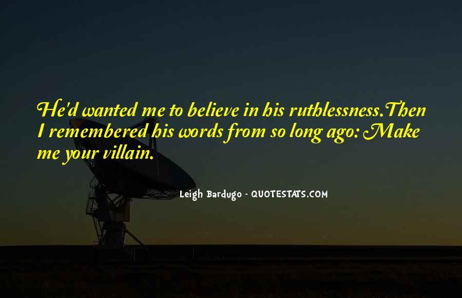 Darkling's Quotes #495794