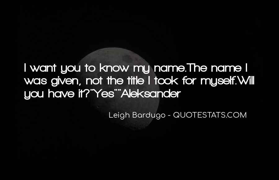 Darkling's Quotes #606565