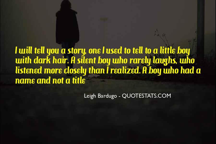 Darkling's Quotes #825902