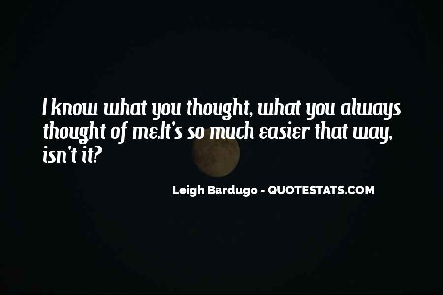 Darkling's Quotes #860349