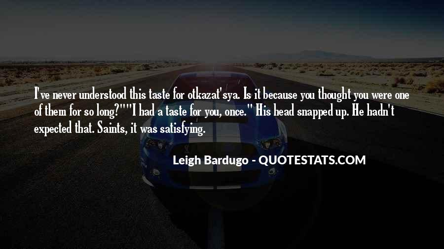 Darkling's Quotes #952355