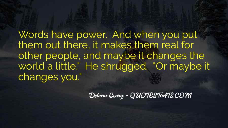 Debora Quotes #1412009