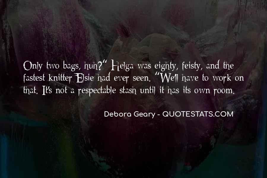 Debora Quotes #1693460