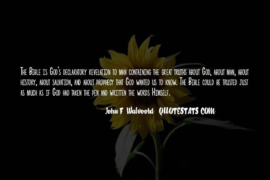 Declaratory Quotes #1591780