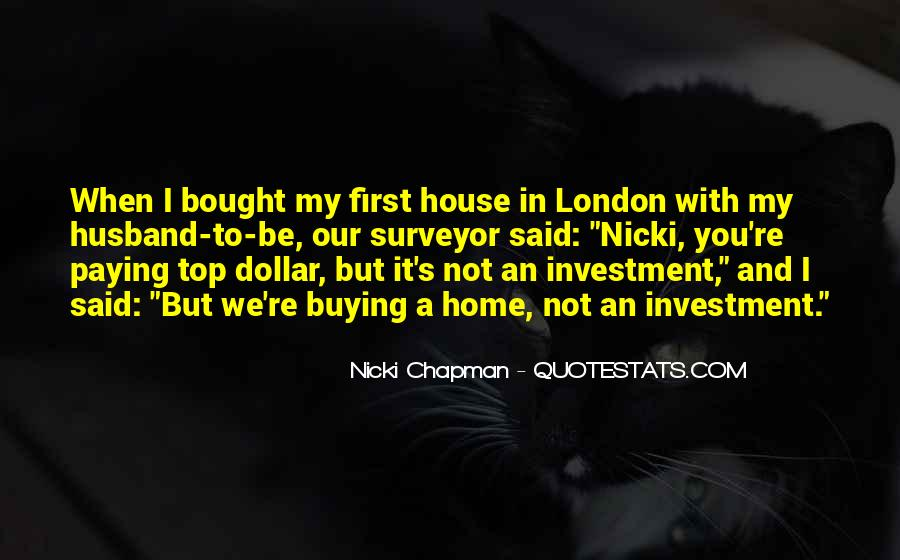 Quotes About Home Buying #464175