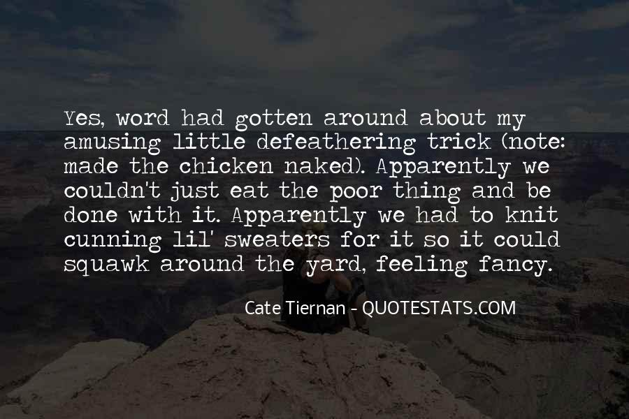 Defeathering Quotes #1160810