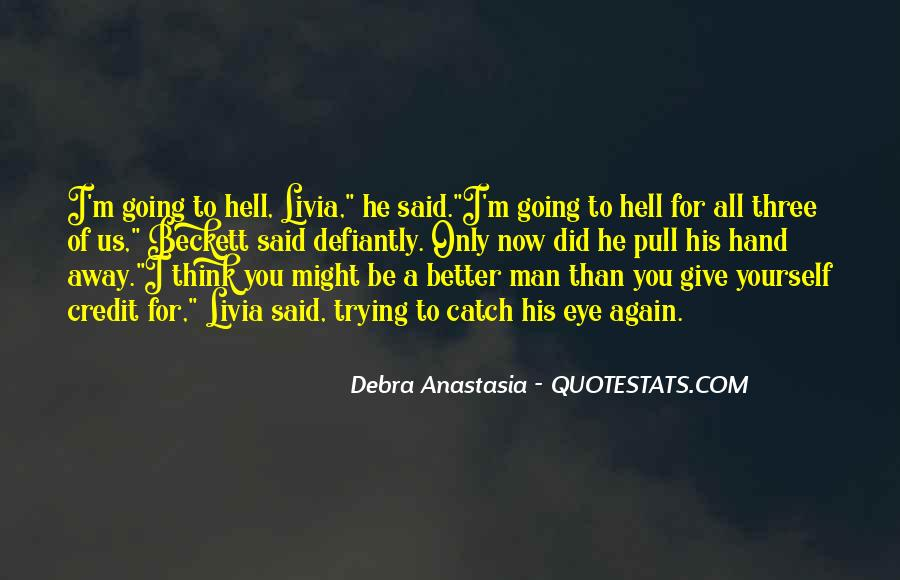 Defiantly Quotes #1312432