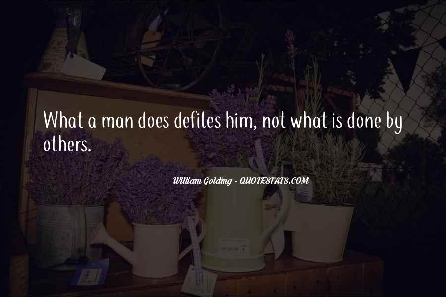 Defiles Quotes #510470