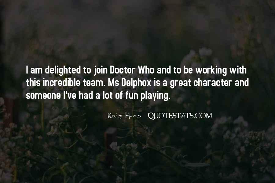 Delphox Quotes