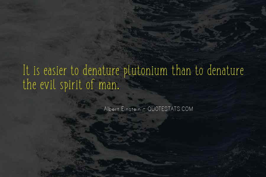 Denature Quotes #639374