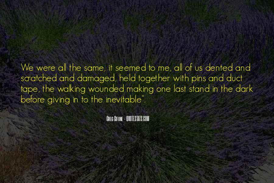 Dented Quotes #1658605
