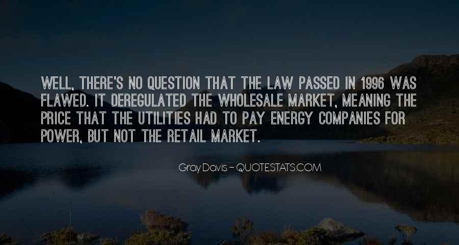 Deregulated Quotes #224354