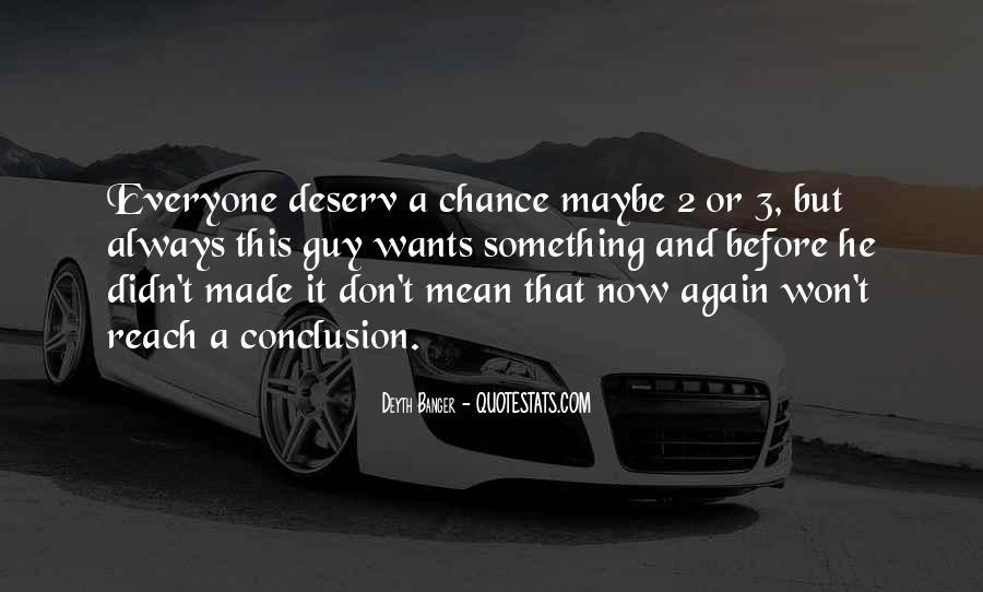 Deserv Quotes #1297989